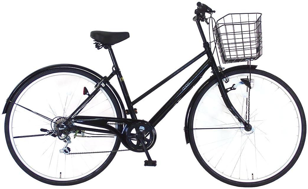 ドロー気取らない形成C.Dream(シードリーム) ココオートライト CC76-H 27インチ自転車 シティサイクル ブラック 6段変速 100%組立済み発送