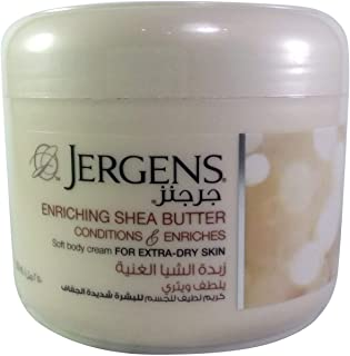 Jergens Enriching Shea Butter Soft Body Cream 2 250 ml, Pack of 1