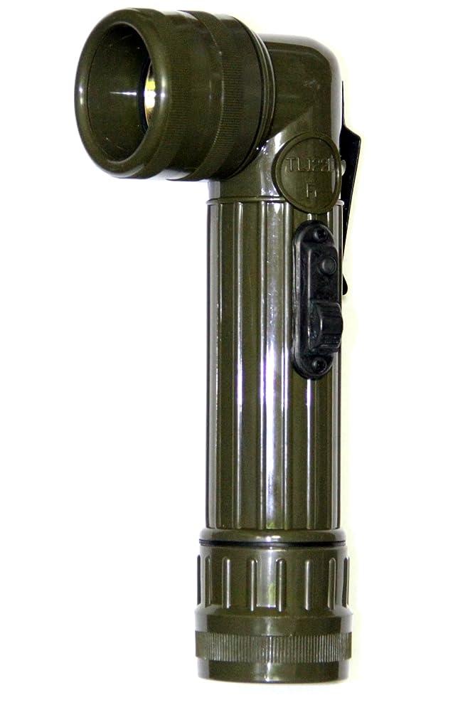 震える地味な男らしい[フランス軍 デッドストック] ハンドライトL型 懐中電灯 アウトドア防災