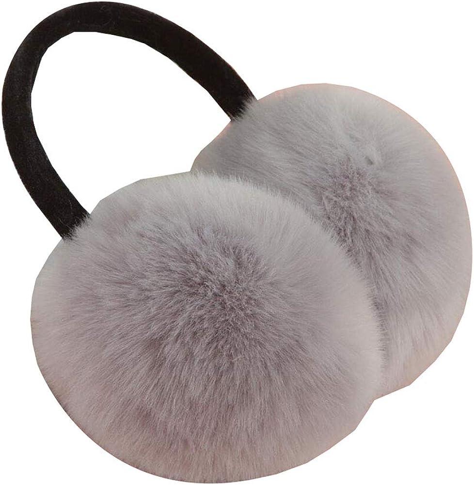 Cute Animal Soft Earmuffs Winter Warm Outdoor Ear Covers Headband Fur Ear warmer,#11