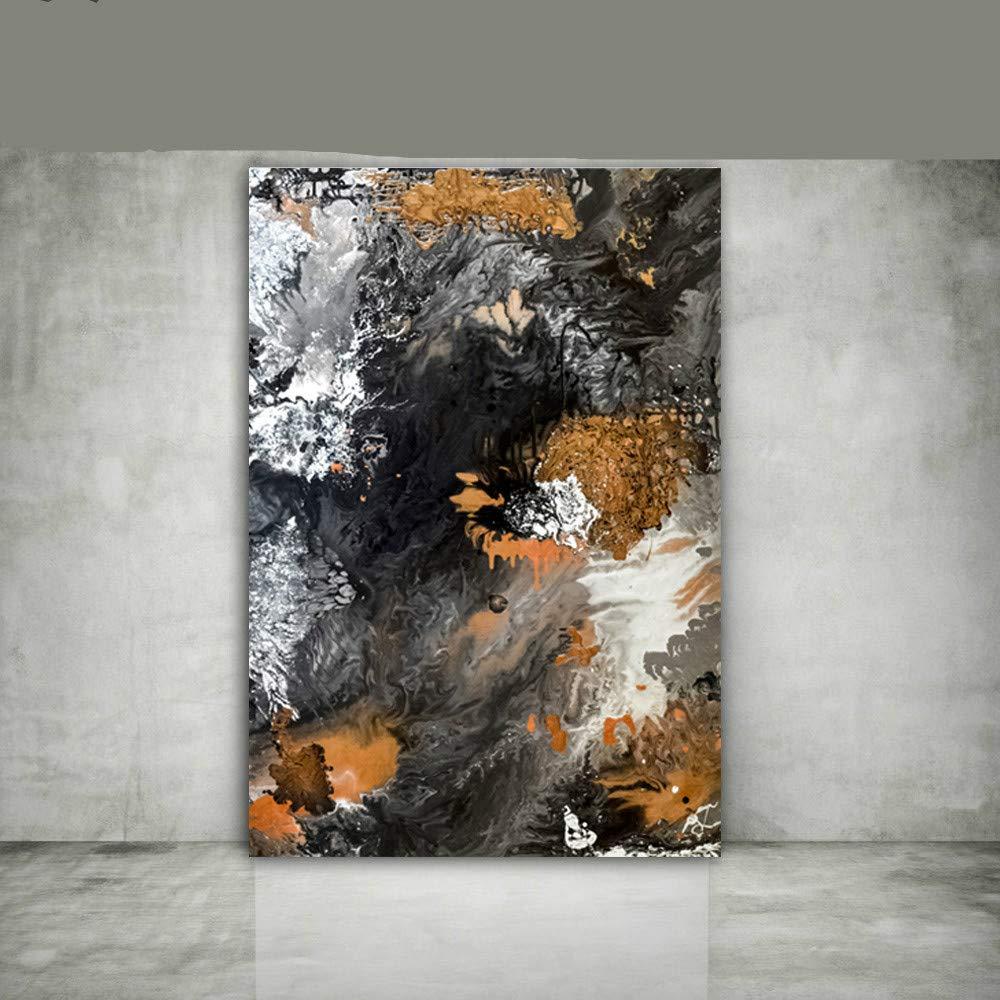 NIMCG Pintura Abstracta del Arte decoración Costera del hogar decoración Moderna de la Pared de la impresión de la Lona Lona de Arte Costera de Gran tamaño (sin Marco) A4 60x90CM: Amazon.es: