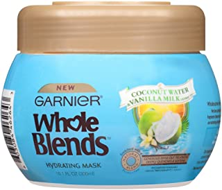Garnier Whole Blends Hair Mask with Coconut Water & Vanilla Milk Extracts, 10.1 fl. oz.