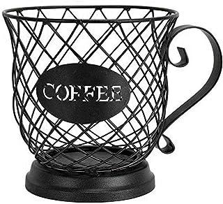 WEEA Porte-capsule de caf/é 42 capsules Porte-organisateur de caf/é Distributeur de capsules Porte-dosette de caf/é