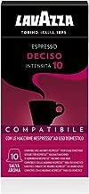 Lavazza Capsule Compatibili Nespresso Espresso Deciso, 10 Confezioni da 10 Capsule [100 Capsule]