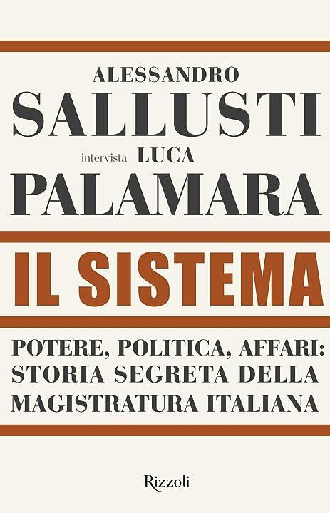 libro palamara-sallusti: Il sistema 978-8817157162