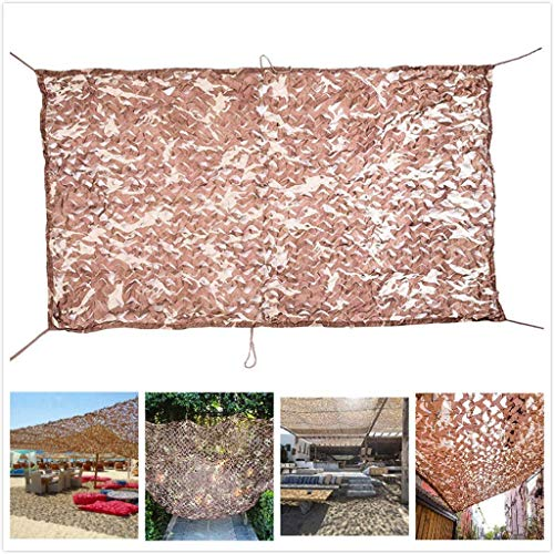 JYAJ Camouflage Net For Hunting/Shooting/Military Net Shading Camouflage Shade Sails For Patio Garden Pergola Available Sizes 2 M 3 M 4 M 5 M 6m 7 M 8m 10 M 12m