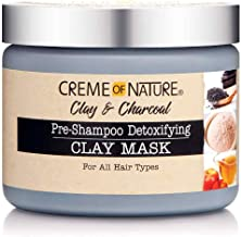 Creme Of Nature Clay & Charcoal Pre-Shampoo Clay Mask 11.5 Ounce