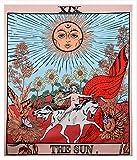 Tarot-Wandteppich / Tapisserie / Wandbehang, Motiv: