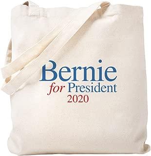 CafePress Bernie 2020 Natural Canvas Tote Bag, Reusable Shopping Bag