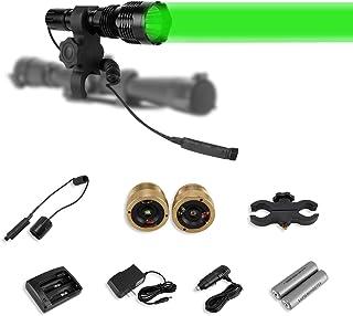 LUMENSHOOTER LS250 Long Range Hunting Light Kit,Green Red...