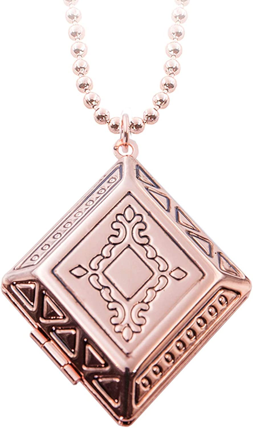 Retro Vintage Living Memory Max 72% OFF Locket Holds Pictures Special price That Necklace