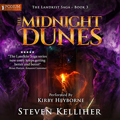 The Midnight Dunes audiobook cover art