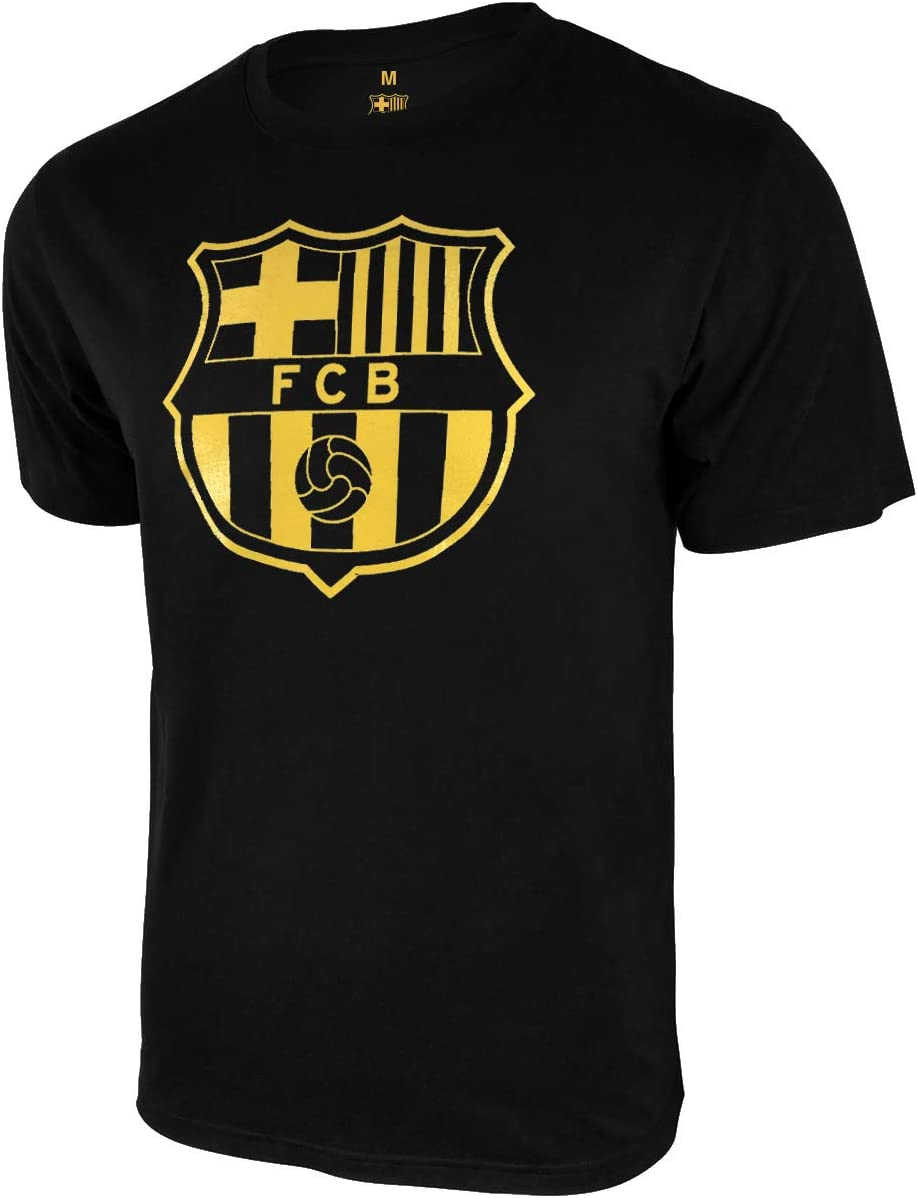 Icon Sports Men FC Barcelona Custom Name /& Number Soccer T-Shirt Cotton Tee 01
