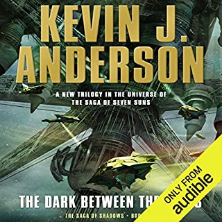The Dark Between the Stars audiobook cover art