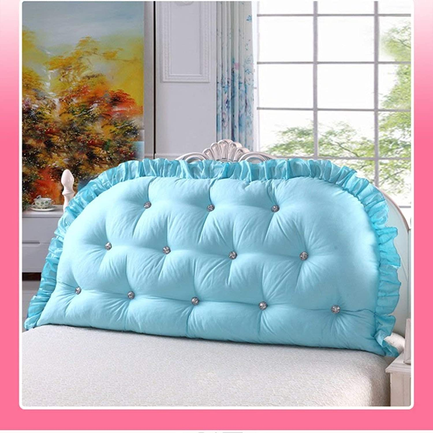 Bed Head Cushion Sofa Big Cotton Double Long Pillow Pillow Bedside Big Backrest Core Positioning Supports Reading Comfortable Headrests, QiXian