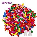 iRunning 300 Pack Self-Sealing Water Balloons, Colorful Water Balloons...