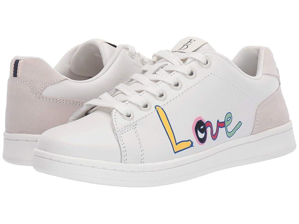 ED Ellen DeGeneres Chapala (Dove White/Pop Art Love Print) Women