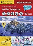 Winter Wonderland Cortina d'Ampezzo: Cartina Invernale Cortina d'Ampezzo (Winter-Wanderkarten) (Winter-Wanderkarten / Cartine Invernali) - Athesia Tappeiner Verlag