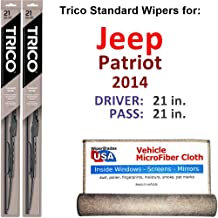 Best 2014 jeep patriot wiper blade size Reviews