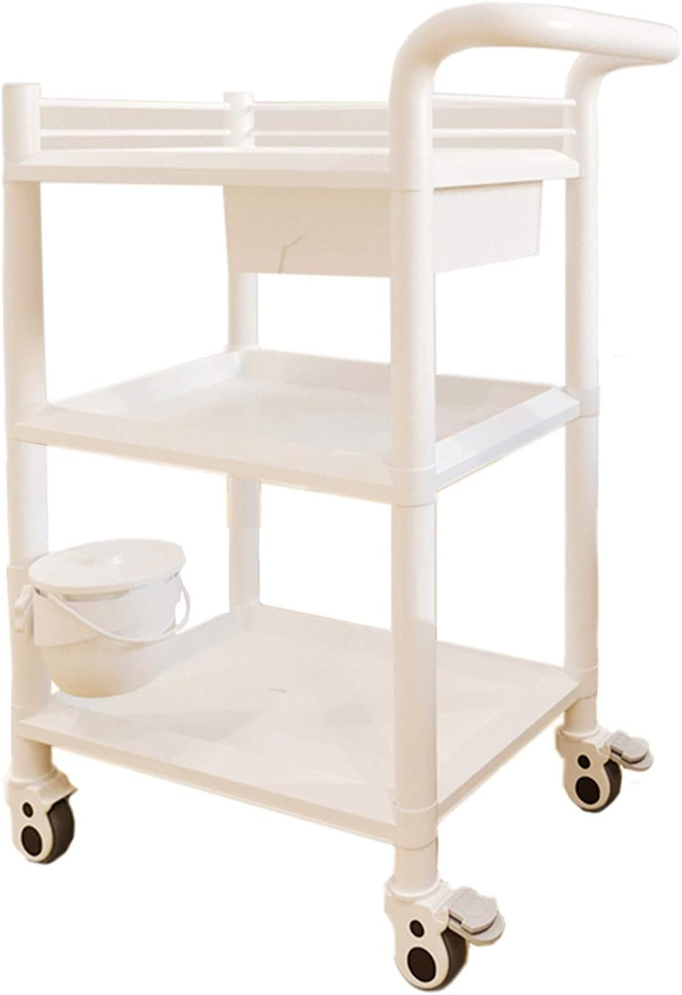 ZJMK Beauty Utility High order Cart Special sale item Rolling Trolley Larg Hairdressing