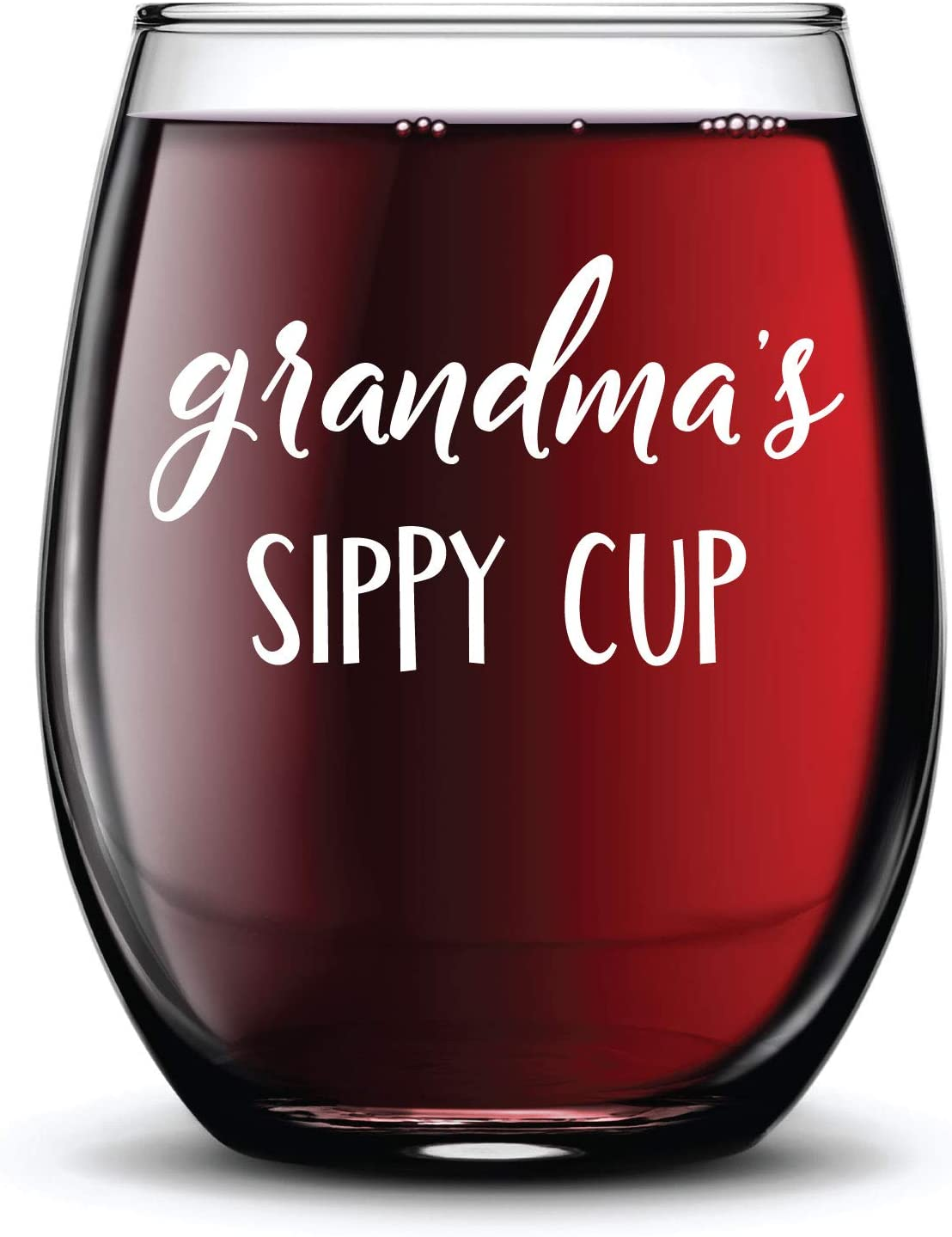 Grandma's Sippy Cup Wine Selling and selling Glass Ink Gift Permanent Ranking TOP20 Funny Stemless