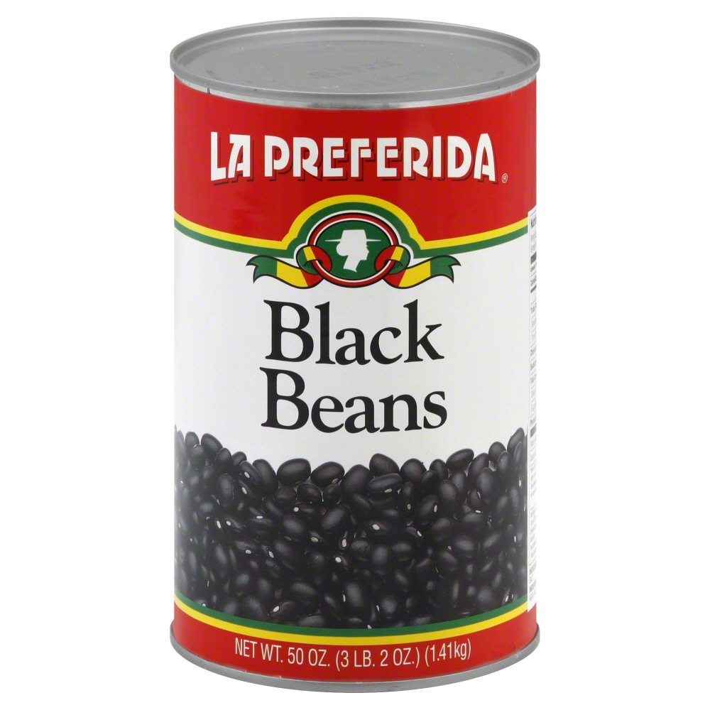 La Preferida Beans Limited time for free shipping Black of NEW before selling Pack 12 50-Ounce