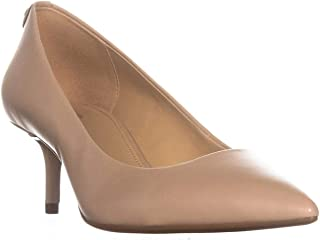 Michael Michael Kors Women's MK Flex Kitten Pump Pumps Shoes (8 B(M) US, Nude Smooth Kid)
