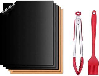 QAQGEAR Kit de fournitures pour décoration de gâteaux, support à gâteaux, sacs en silicone, buses en acier inoxydable, tap...