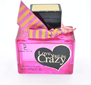 Dorall Collection Love You Like Creazy for Women 100ml Eau de Parfum