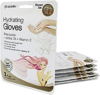 Hand Hydrating Gel Moisture Gloves with Shea Butter & Jojoba & Vitamin E(Pack of 6)