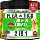Best Dog Flea Collars - Chewable Flea & Tick Control Treats for Dogs Review