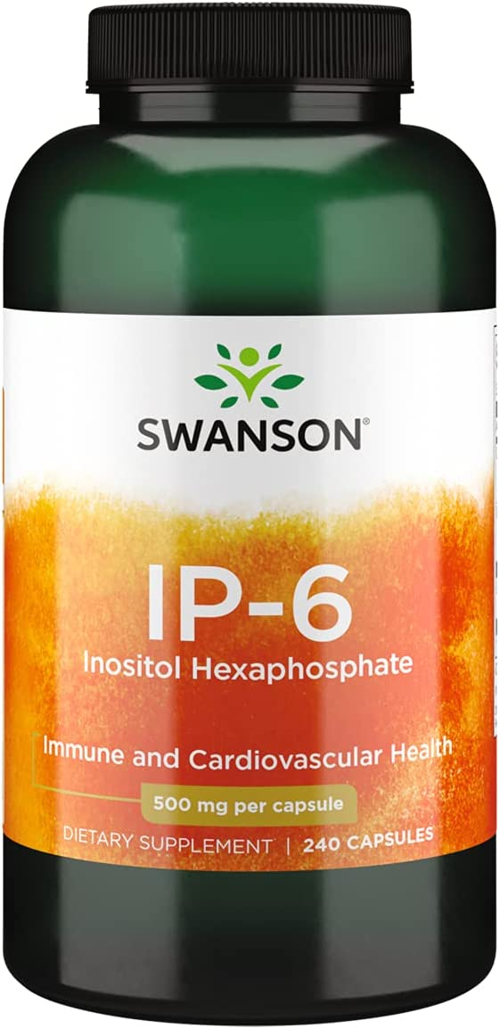 Swanson IP-6 Inositol National products Hexaphosphate Supplement Natural Oklahoma City Mall Aiding -