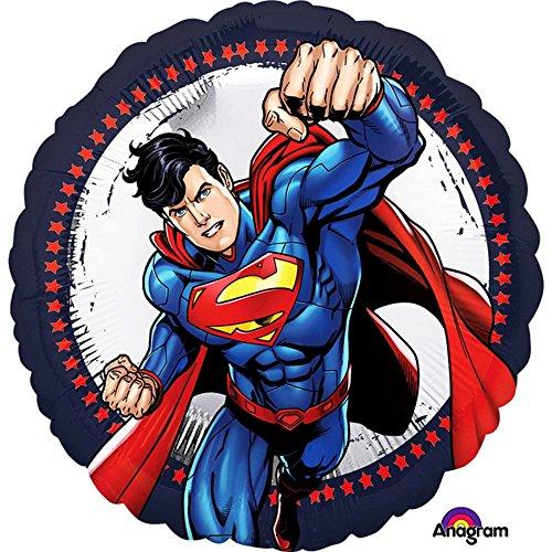 Amscan International 3553201 Superman - Globo de aluminio