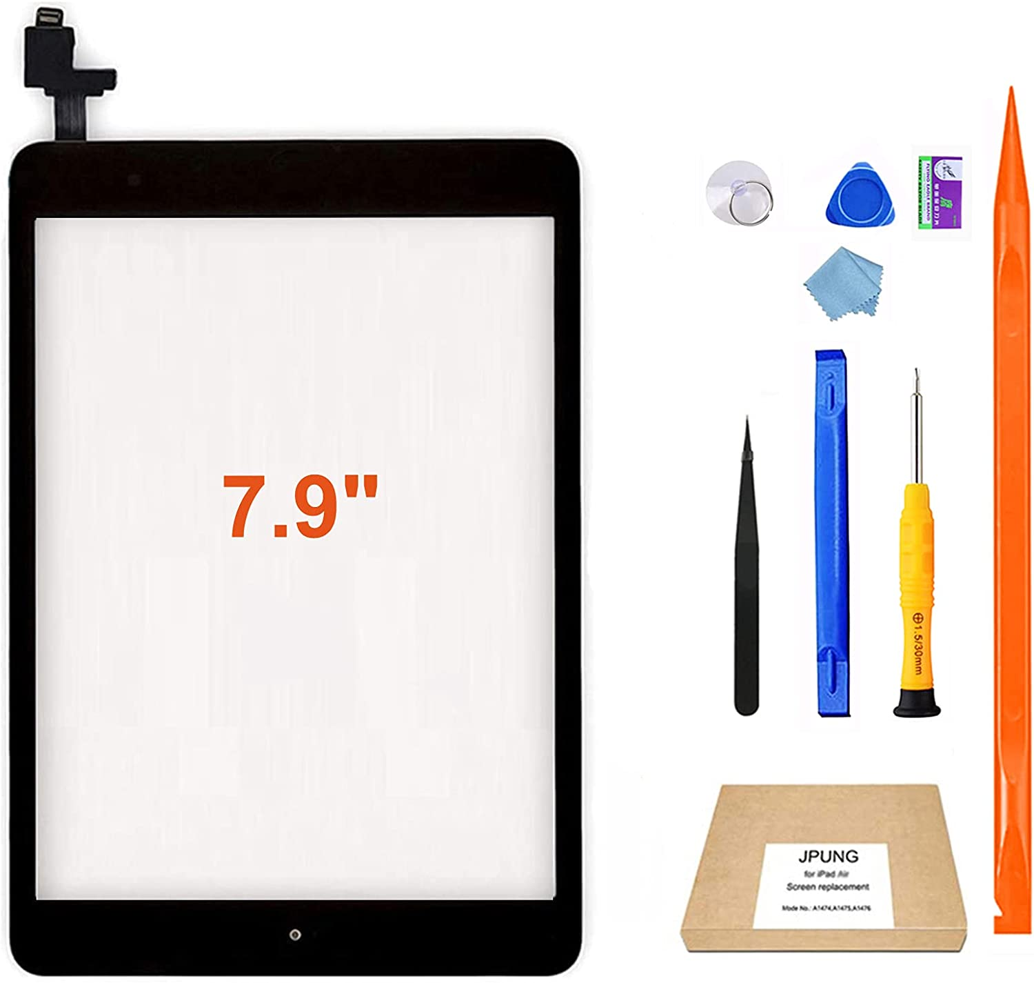 JPUNG Super sale for iPad Mini 1 A1432 Replacement A1454 Long Beach Mall Screen 2