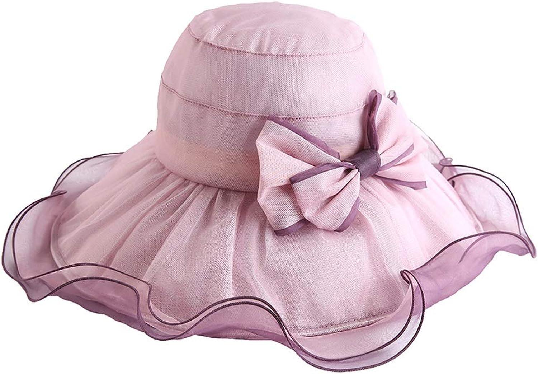 YD Hat  Women's Summer Sun Visor Foldable UV Predection WideBrimmed Sun Hat Beach Hat (5 colors)    (color    1)