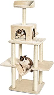 AmazonBasics Multi-Level Cat Tree with Scratching Posts