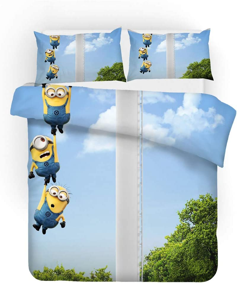 Dedication YUN-1 3 Pieces of Bedding Three-Dimensional Cheap mail order specialty store 3D Man Yellow Little