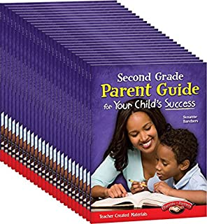 Teacher Created Materials - Second Grade Parent Guide for Your Child's Success - Set of 25
