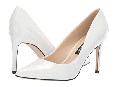 Nine West Ezra Pump (White) Women