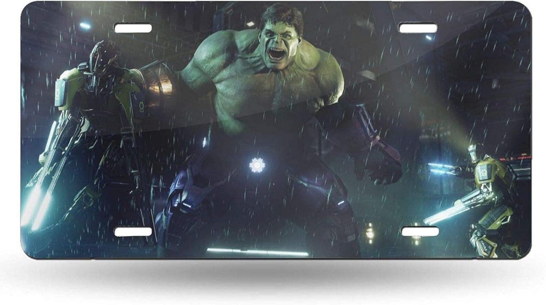 Wahom Avenger Hulk Car Oakland Mall Ranking TOP14 License Plate 12