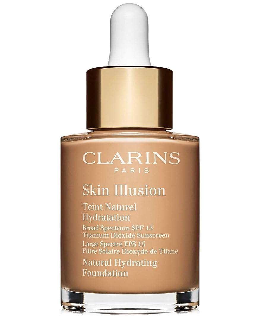 フォーカス昆虫を見るクロールクラランス Skin Illusion Natural Hydrating Foundation SPF 15# 110 Honey 30ml/1oz並行輸入品
