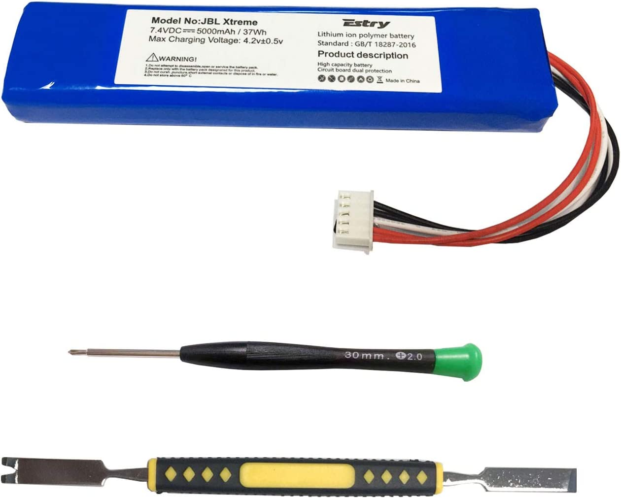 Estry Battery Replacement Kit for Extreme JBL overseas JBLXTREME Dedication G Xtreme