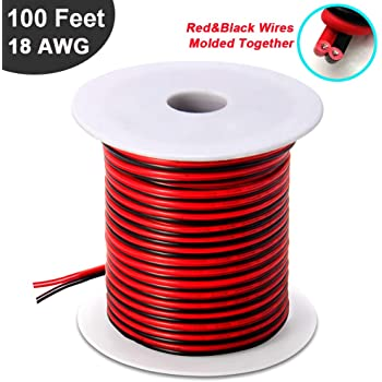 18 AWG 2//C Solid FPLR Riser Rated Shielded Fire Alarm Cable Red EWCS Spec 1000 Feet EWCSSPEC CECOMINOD076869 Made in USA