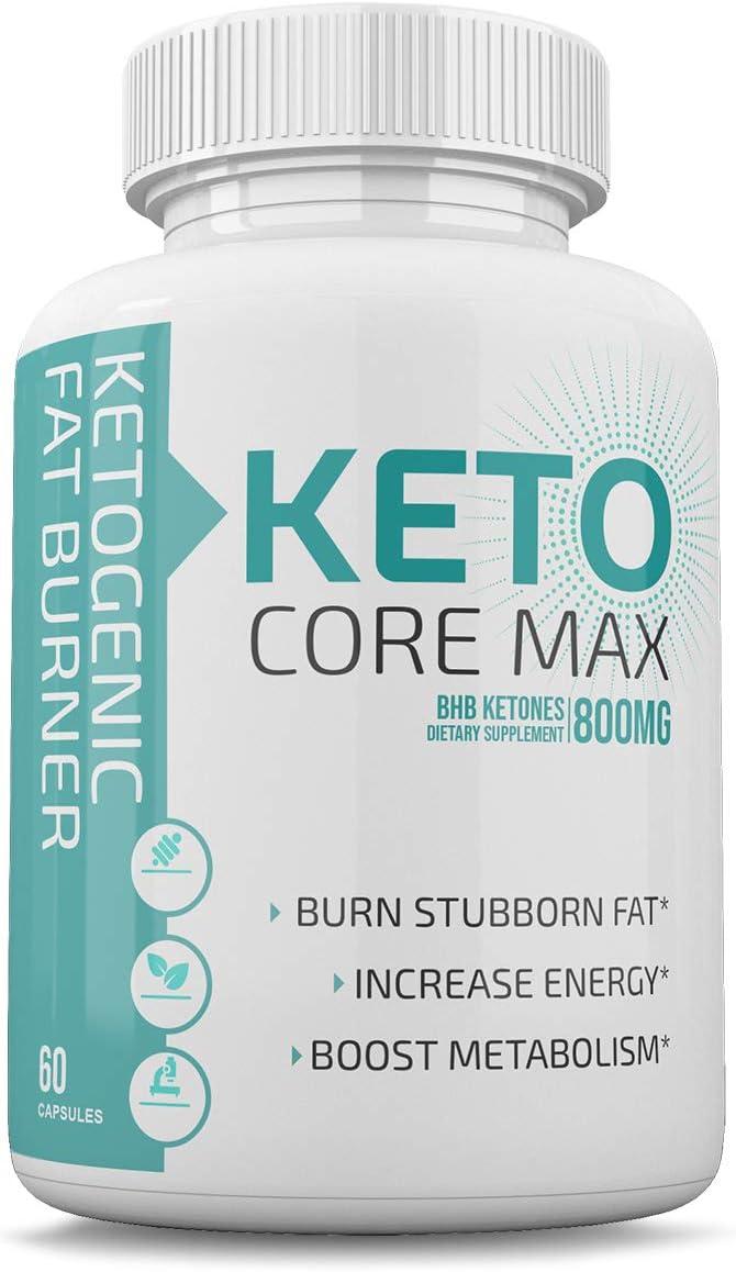 Keto Core Max - Ketones 800MG Burn favorite Increase Energy 76% OFF B Fat