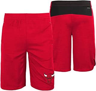 Outerstuff Chicago Bulls NBA Youth Free Throw Shorts Red