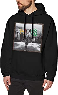 NANCYAA Men's Joey Badass No Pocket Pullover Cool Hooded Sweatshirt Black