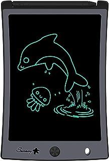 Sunany Tavoletta Grafica LCD Scrittura 8.5 Pollici,LCD Writing Tablet,Lavagna da Disegno Portatile Digitale con Pulsante d...