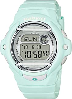 Casio BG169R-3 Baby G Womens Watch Light Mint 46mm Resin