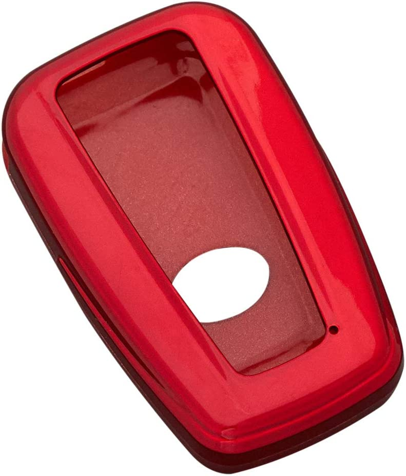 HelloAuto Remote Key Fob Case Shell Protection Holder Compatible with 2018 2019 2020 Toyota Camry RAV4 Avalon C-HR Prius Corolla 3//4 Buttons Remote Key Red Cover
