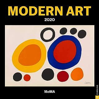 Modern Art 2020 Mini Wall Calendar